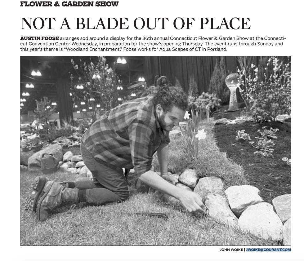 Hartford Courant: Not a Blade Out of Place