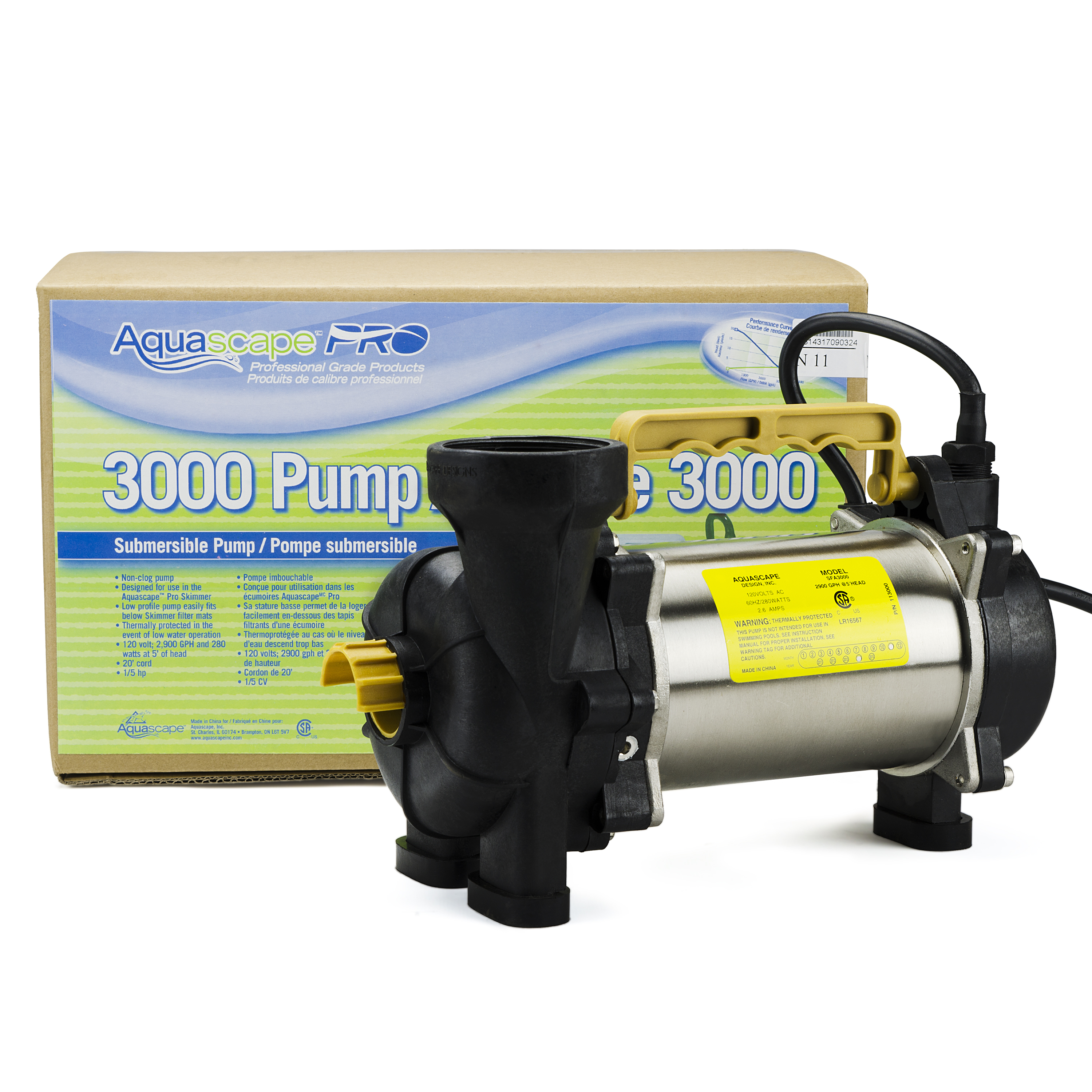 AquascapePRO 3000 Pond Pump