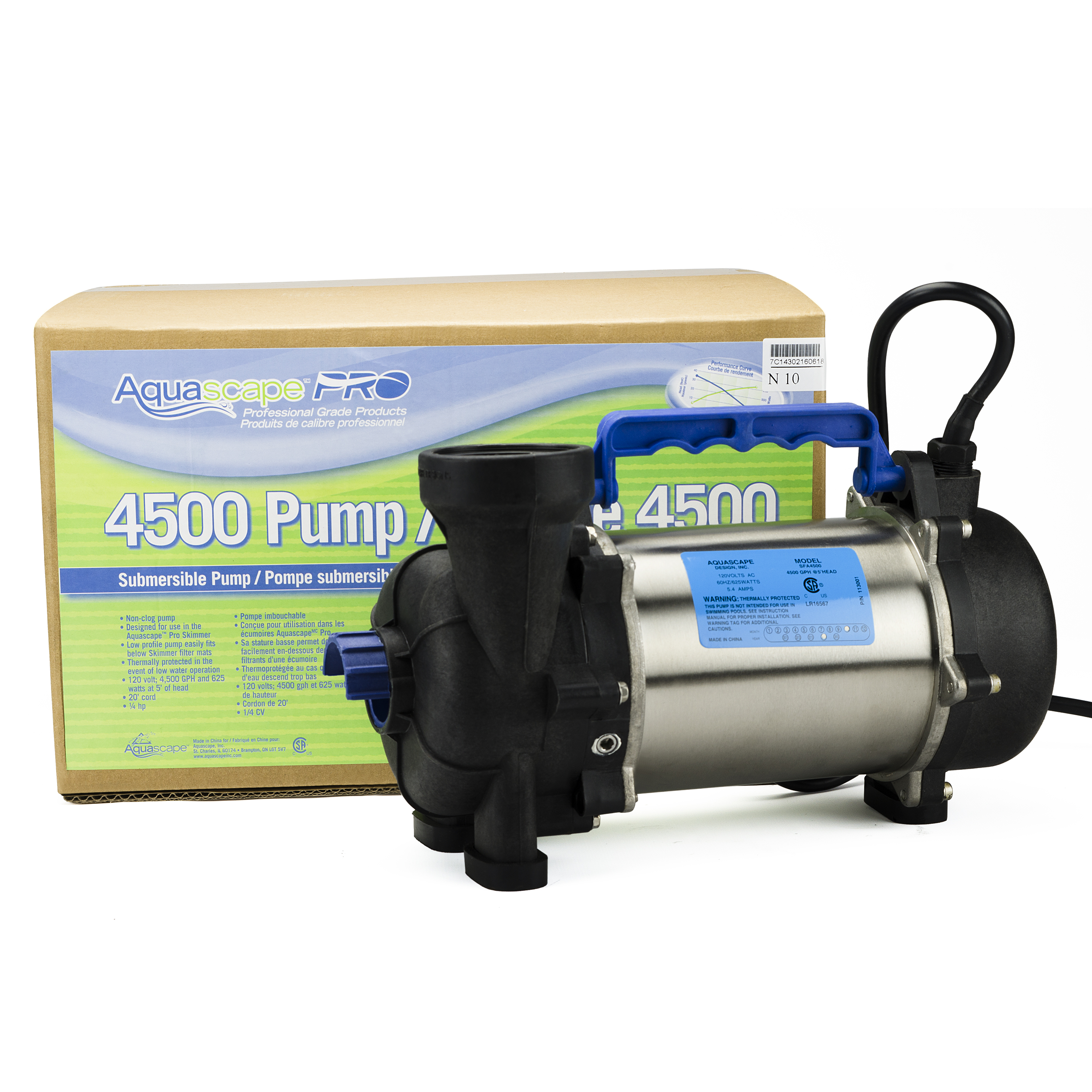 AquascapePRO 4500 Pond Pump