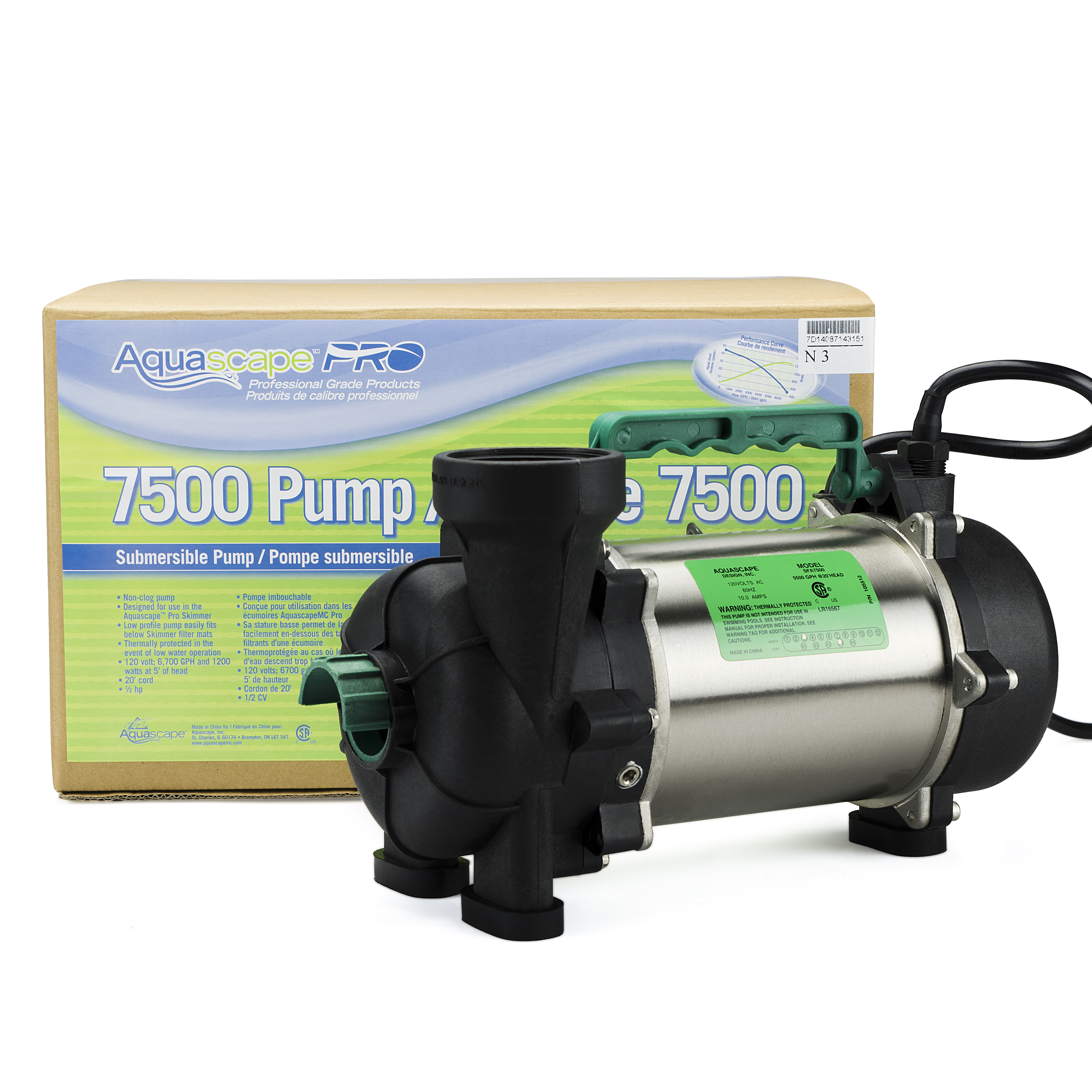 AquascapePRO 7500 Pond Pump