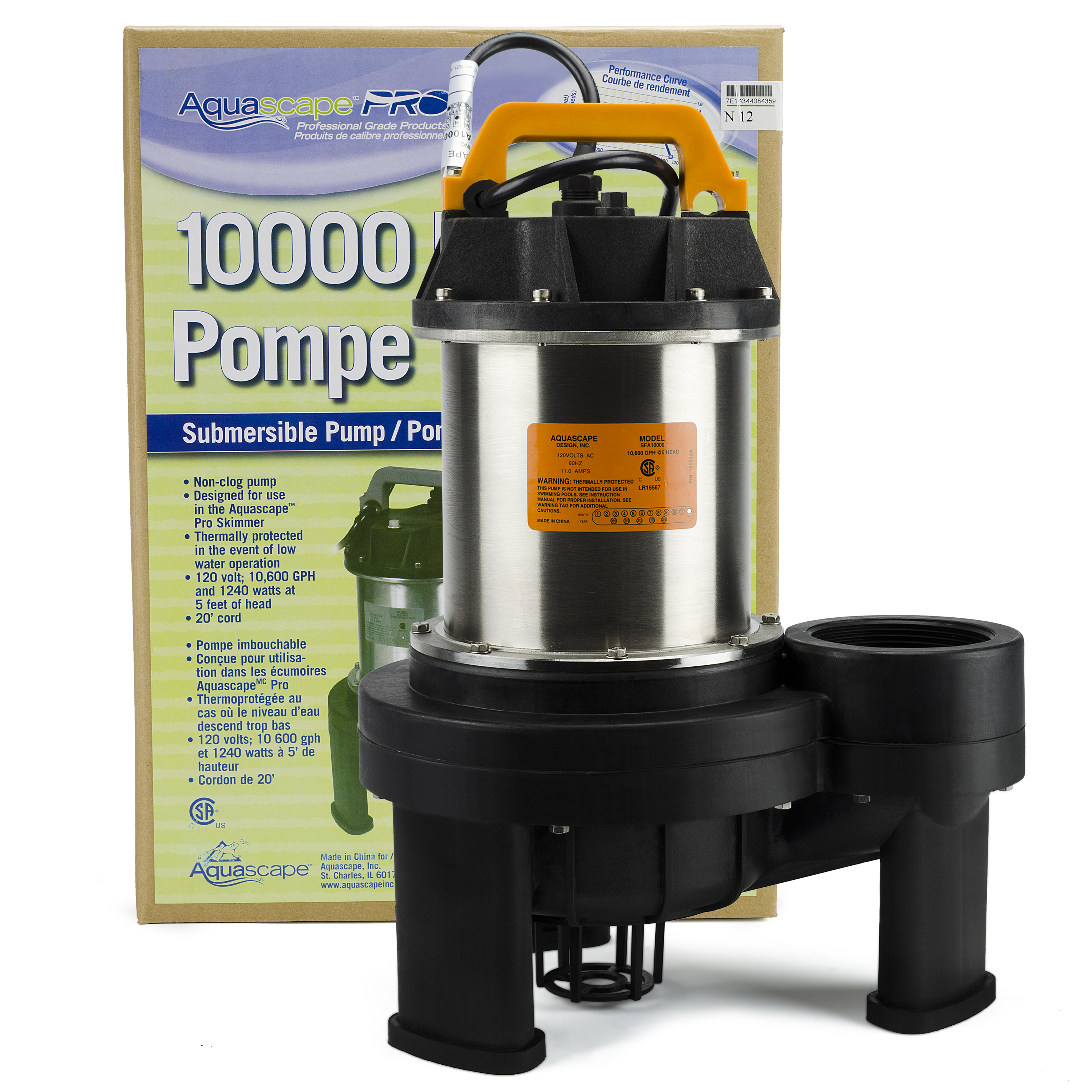 AquascapePRO 10000 Pond Pump