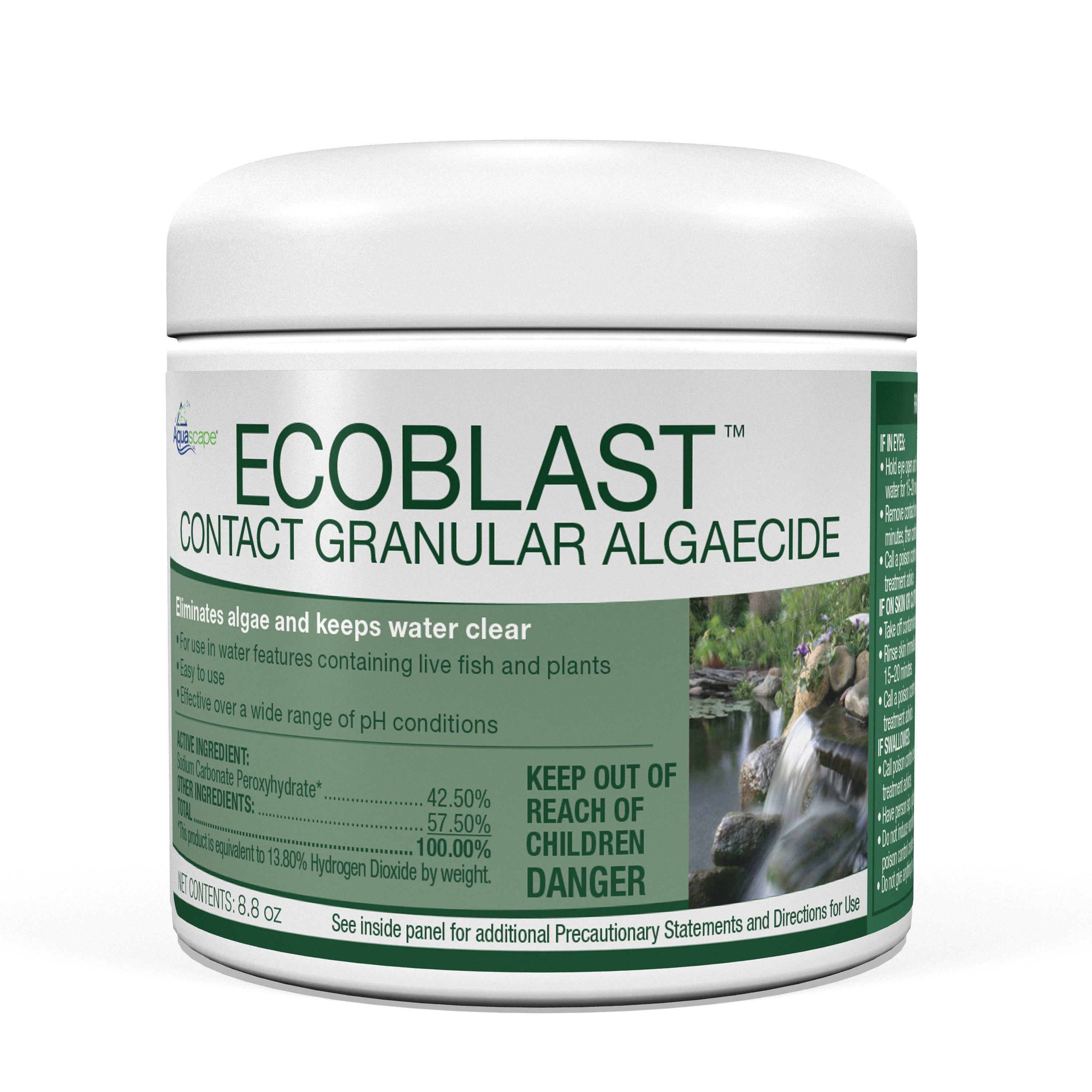 EcoBlast� Contract Granular Algaecide - 250g / 8.8oz