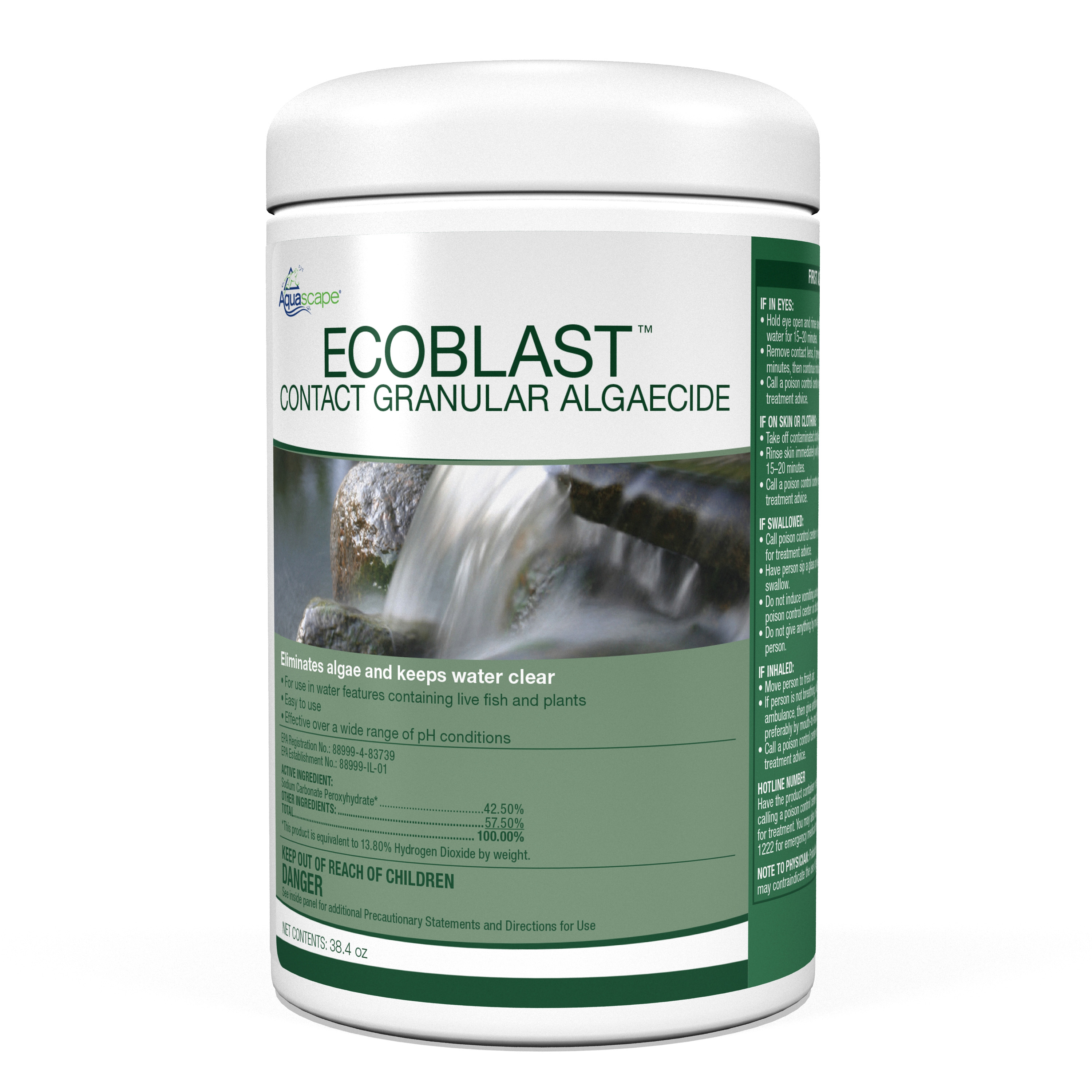 EcoBlast� Contract Granular Algaecide - 1.1kg / 38.4oz