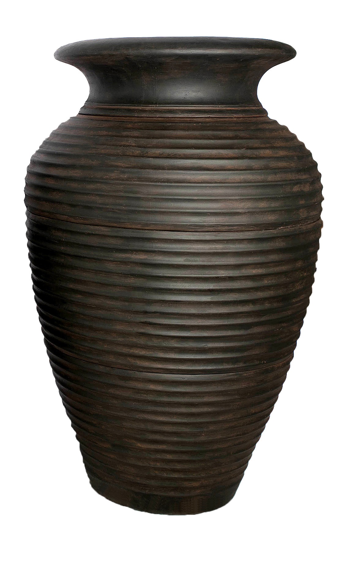 Large Rippled Urn