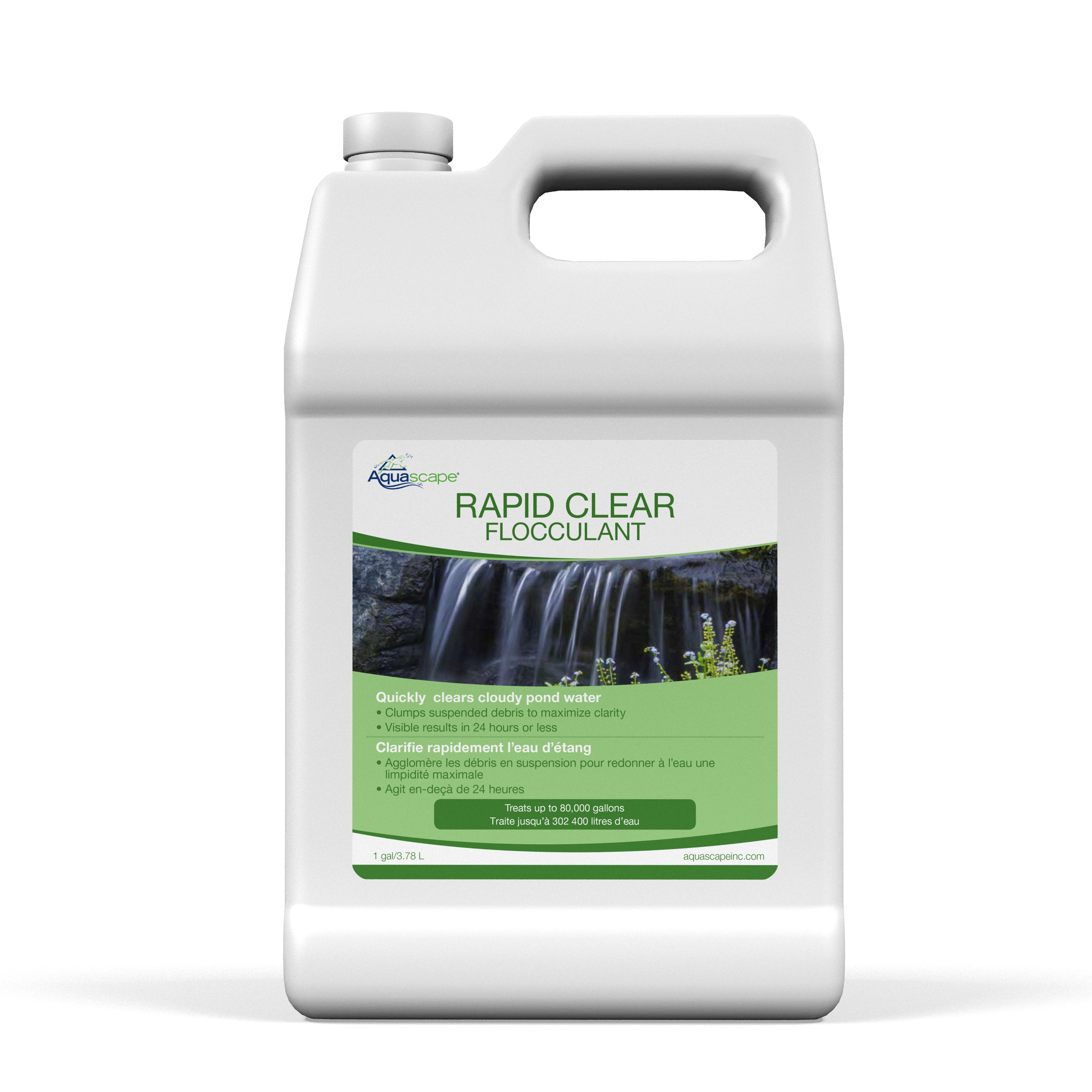Rapid Clear Flocculant - 3.78ltr / 1 gal