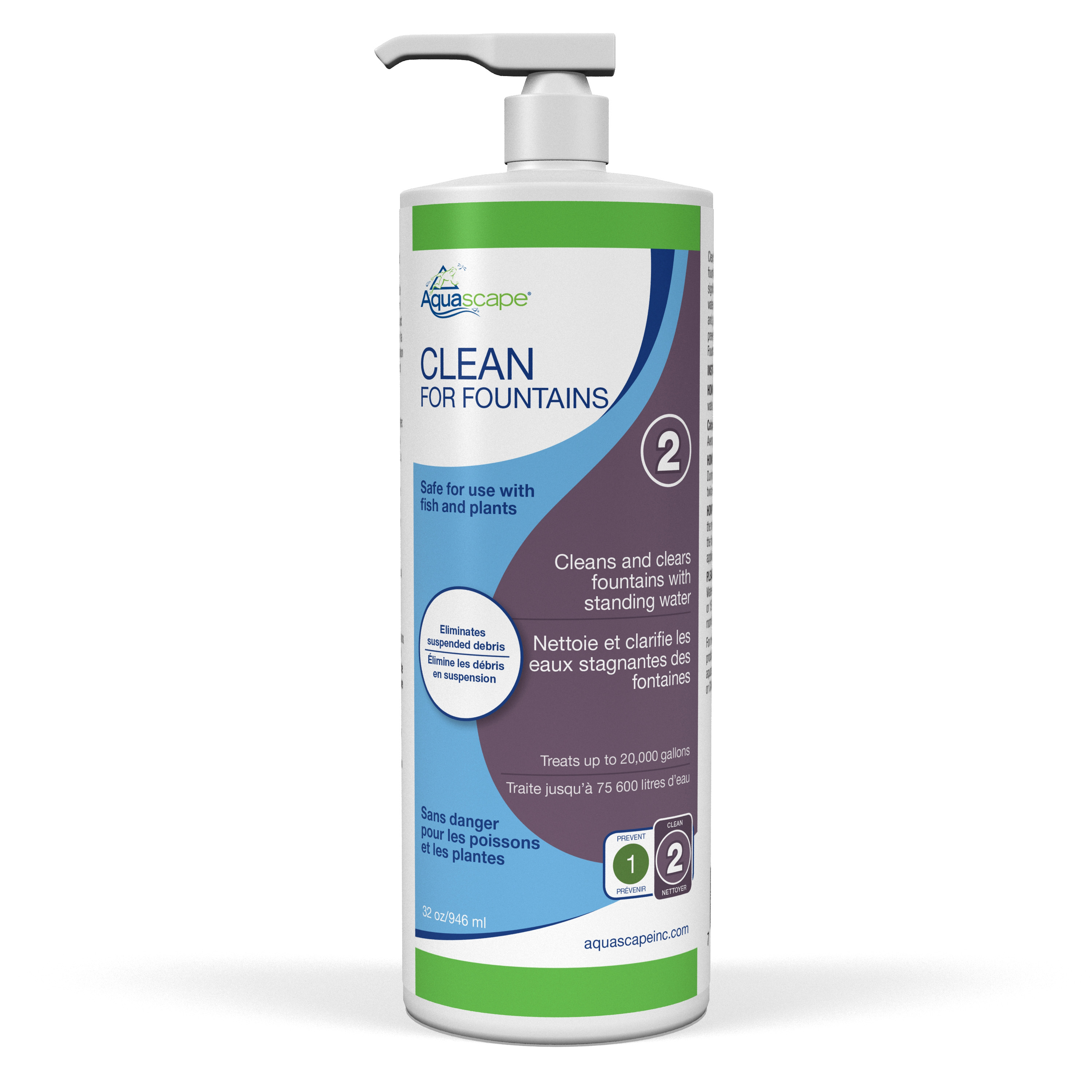 Clean for Fountains - 32 oz / 946 ml